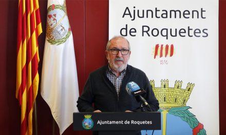L'alcalde de Roquetes fa una crida a la població per demanar el compliment de les mesures Covid-19