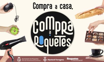 """Vídeo promocional de la campanya: """"Compra a casa, compra a Roquetes"""""""