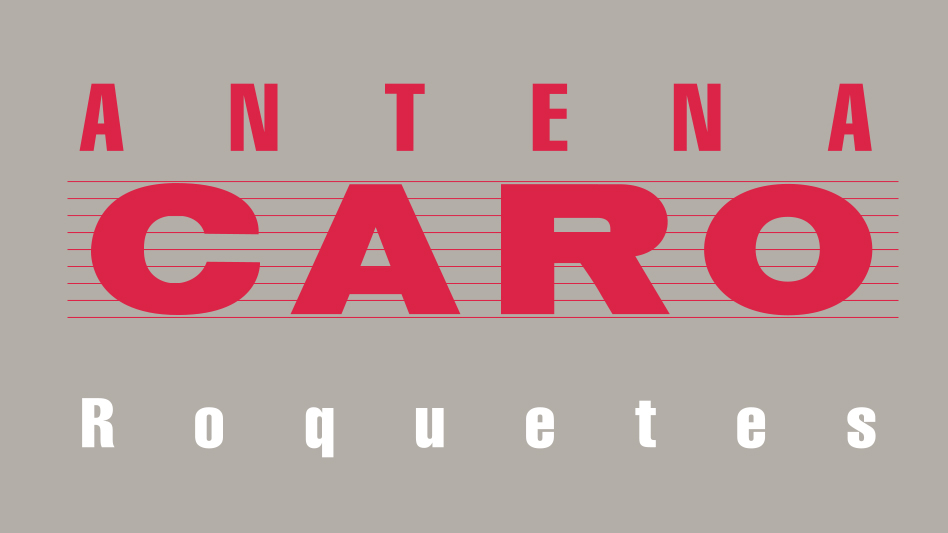 Logo Antena Caro - 1987-1988