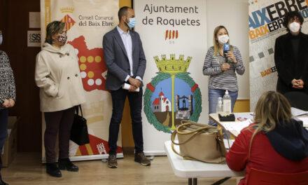 El Consell Comarcal del Baix Ebre comença a impartir un curs d'auxiliars de comerç a Roquetes