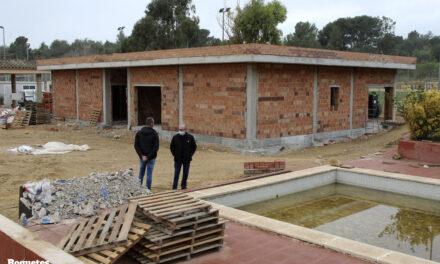 Les obres de la zona esportiva de Roquetes estaran enllestides aquest estiu