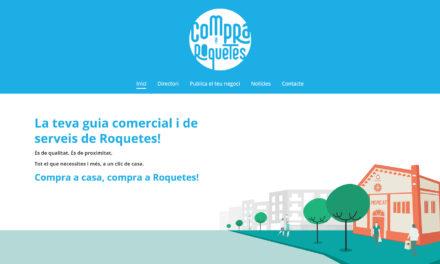 L'Ajuntament de Roquetes crea un portal web per promocionar el comerç i serveis locals