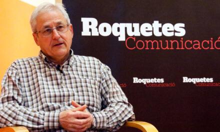Ramon Martínez, portaveu del PSC va proposar a l'oposició una moció de censura contra el govern de Roquetes