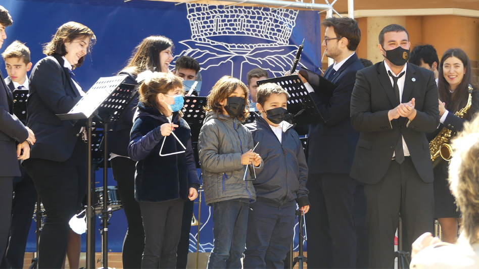 La Lira Roquetense ofereix un concert i presenta el vídeo 'Músiques al Territori' a la festa del 14 d'abril