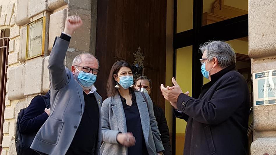 El judici contra l'alcalde de Roquetes per l'1-O es reprendrà finalment aquest dijous 13 de maig