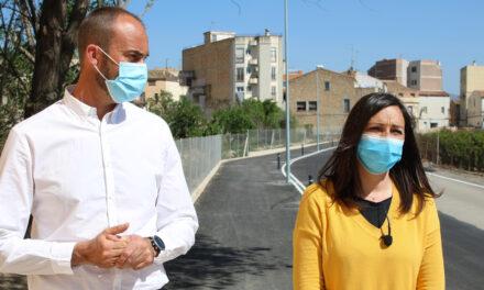 L'Ajuntament de Roquetes urbanitza a la Raval de Cristo un tram del Camí del Mig per millorar la seguretat i l'accessibilitat
