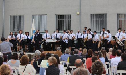 Estrena del pasdoble Sisco Trullen, compost per Denís Casanova, al Concert de Primavera de la Lira Roquetense