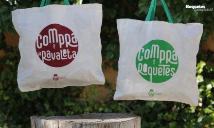 L'Ajuntament de Roquetes repartirà 3.000 bosses de compra per promocionar el comerç de la ciutat