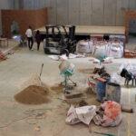 Traspàs de la carretera d'entrada per la C 12 a la Raval de Cristo i obres al Casal La Ravaleta