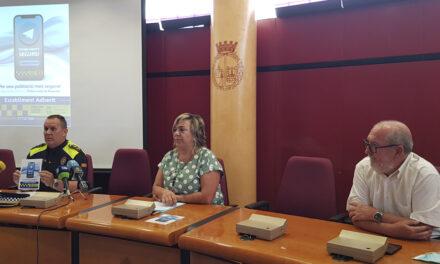 Presentació de la Campanya 'Establiments Segurs' per una població més segura! Contacte directe amb la Policia Local de Roquetes