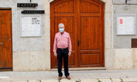 Càritas Roquetes dóna a conèixer els voluntàris de l'entitat i les obres de reforma del local amb una visita virtual