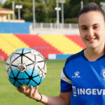 """La futbolista roquetera, Emma Martín, jugarà a 1a Divisió amb el """"Deportivo Alavés Gloriosas"""""""