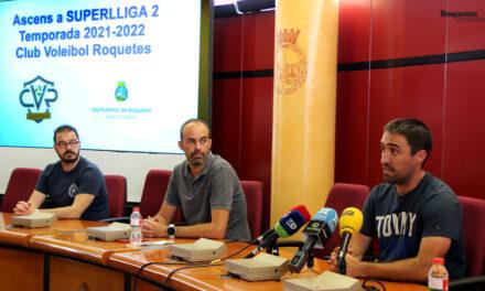 El Club Voleibol Roquetes jugarà a la Superlliga-2 la pròxima temporada 2021-2022