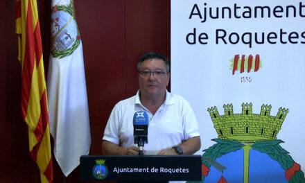 Ple Ordinari de Roquetes – Juliol 2021 – Declaracions – regidor no adscrit – Ximo Llopis