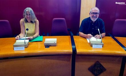 Roquetes celebra la Diada Nacional de Catalunya 2021 amb la xerrada institucional a càrrec del Club BTT Terres de l'Ebre.