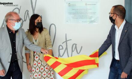Inauguració de les obres de remodelació i millora del Casal de la Ravaleta